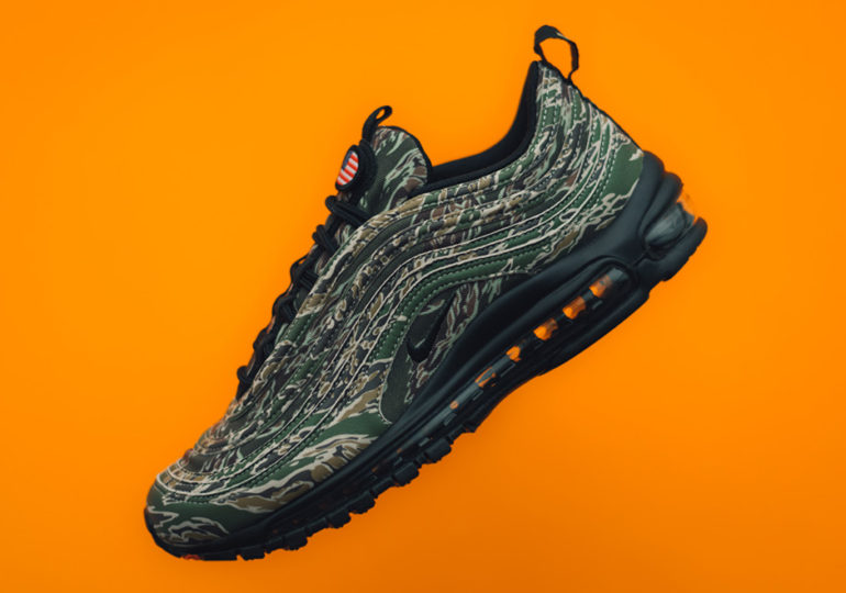 """separation shoes 8ae8a 261e6 Nike Air Max 97 Celebrates 20th Year Anniversary with """"Country Camo"""" Pack"""