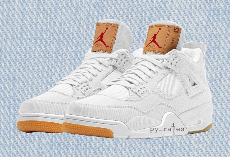 sale retailer 66636 7fdc9 White Levi's Jordan 4 Is Officially Releasing – TUC