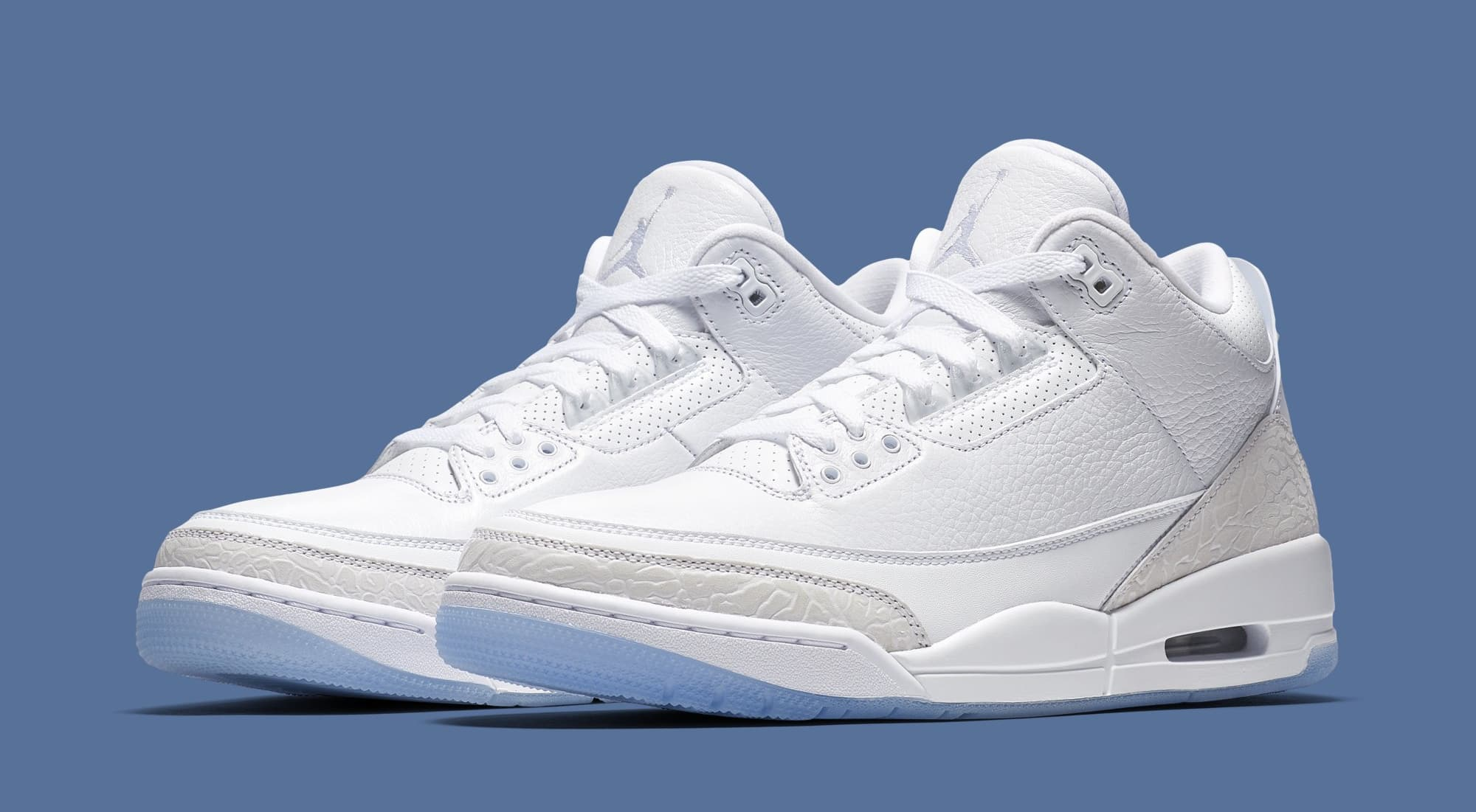 """cfd64f9461c267 The New Air Jordan 3 """" Triple White"""" Details Announced ( Pictures) – TUC"""